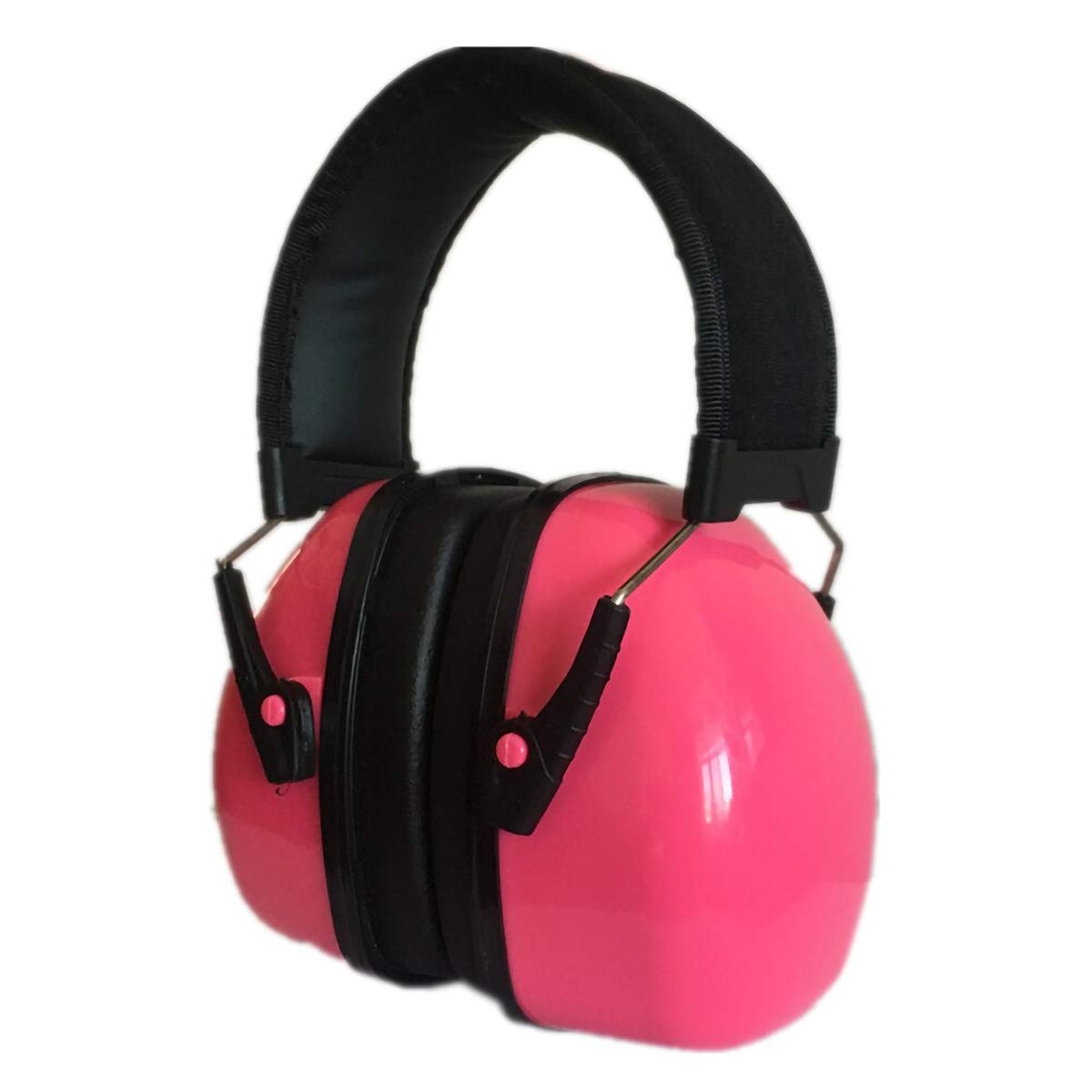 2TRIDENTS Anti Sound Earmuffs Hearing Protectors Ear Protection Noise Reducer Earmuffs for Outdoor Activities Hunting Shooting (pinnk)