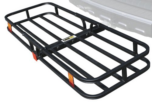 Rear Cooler Rack (MaxxHaul 70107 Hitch Mount Compact Cargo Carrier - 53
