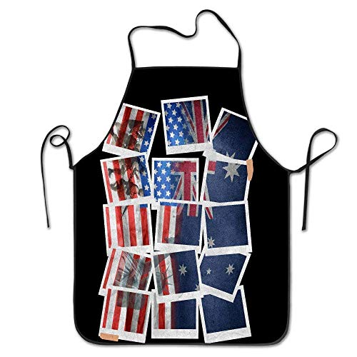 luickyw Worst Costume Ever Halloween Scared Black Cat New Apron Chef Kitchen Cooking Apron Bib -