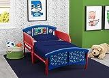 Delta Children Plastic Toddler Bed, PJ Masks