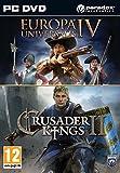 Crusader Kings II and Europa Universalis IV Twin Pack (PC DVD) UK IMPORT REGION FREE