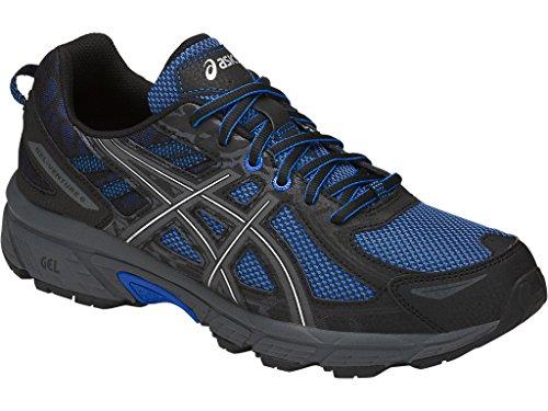 ASICS Mens Gel-Venture 6 Running Shoe, Victra Blue/Blue/Black, 12.5 D(M) US