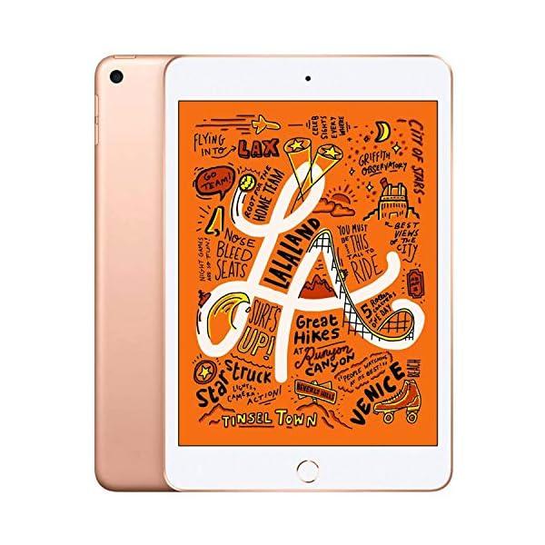 "Apple iPad Mini | 7.9"" | 5th GEN | WI-FI | 64GB | Gold | 2019 | (Renewed) 1"