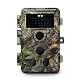 Meidase Latest Trail Camera 16MP 1080P, Game Camera with No Glow Night Vision