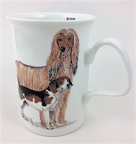 Roy Kirkham Fine Bone China Lancaster Mug Dogs Galore