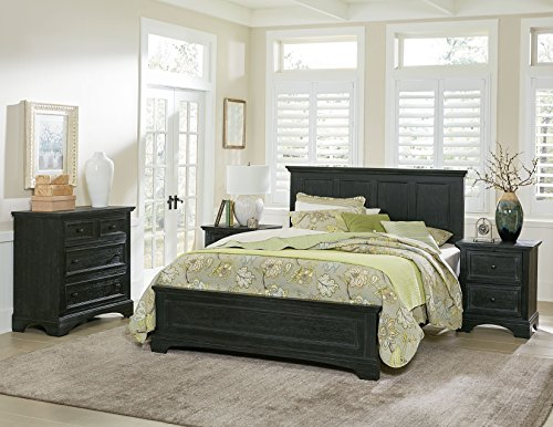 Bassett Bedroom Sets - INSPIRED by Bassett BP-4200-311B Bedroom, King Collection, Rustic Black