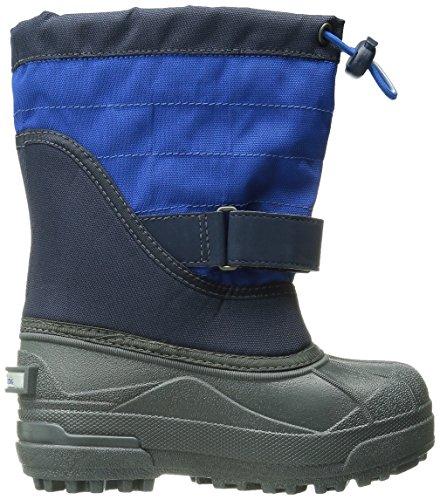 Columbia Unisex-Kinder Youth Powderbug Plus Ii Trekking-& Wanderstiefel, Blau, 34 EU