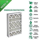 20x25x4 MERV 13 ( MPR 2200 ) AC Furnace 4'' Inch Air Filters. 4 Pack