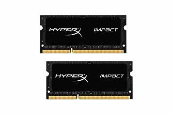 Kingston Technology Hyperx Impact 16gb 2 X 8g 204 Pin Ddr3 So Dimm