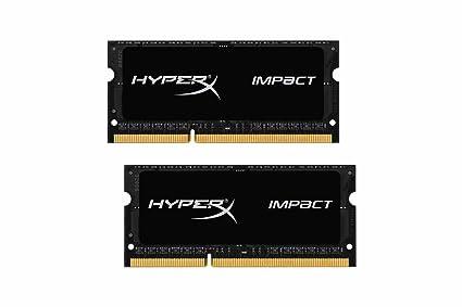HyperX Impact - Memoria RAM de 16 GB (XMP DDR3L-1600 MHz CL9 ...