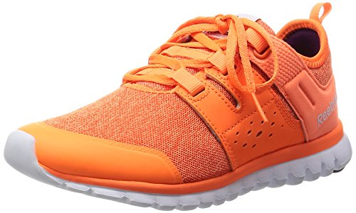 Reebok Sublite Authentic 2.0 Mtm - Zapatillas de Entrenamiento Mujer Naranja - Orange (Electric Peach/Energy Orange/Wht/Cel Orchd)
