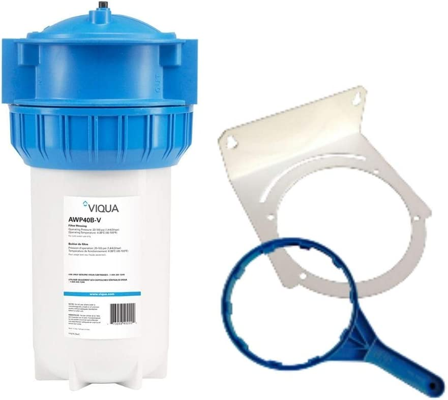 Viqua AWP40B-V 4 1//2 x 10 Inch Home Filter Housing