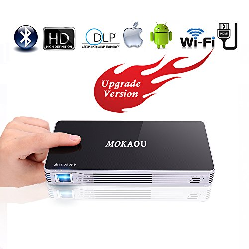Projector,HD Mini Projector,Portable Pico DLP...