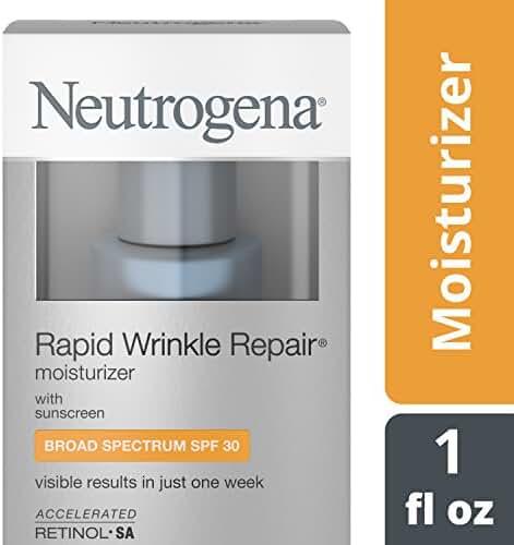 Neutrogena Rapid Wrinkle Repair Moisturizer With Spf 30, 1 Fl. Oz.