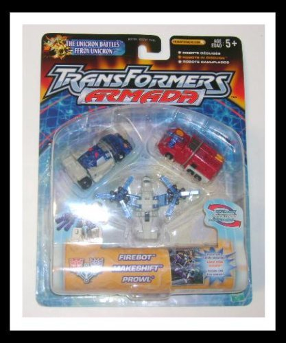 Transformers: Armada Minicons > Emergency Rescue Team Action Figure Multi-Pack