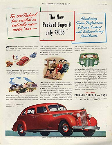 Super Performance & Luxury - Packard Super-8 Touring, used for sale  Delivered anywhere in USA