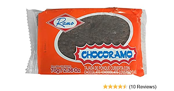 Amazon.com : ChocoRamo 6 Saver Pack. 420gr Pack Made in Colombia : Grocery & Gourmet Food