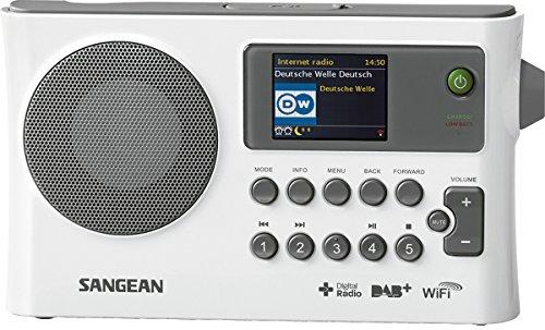 Sangean WFR-28C Radio internet/Lecteur audio réseau/Récepteur numérique DAB+/FM-RDS/USB - Blanc
