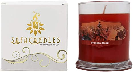 Dragon/'s Blood Scented Aromatherapy Soy Candle
