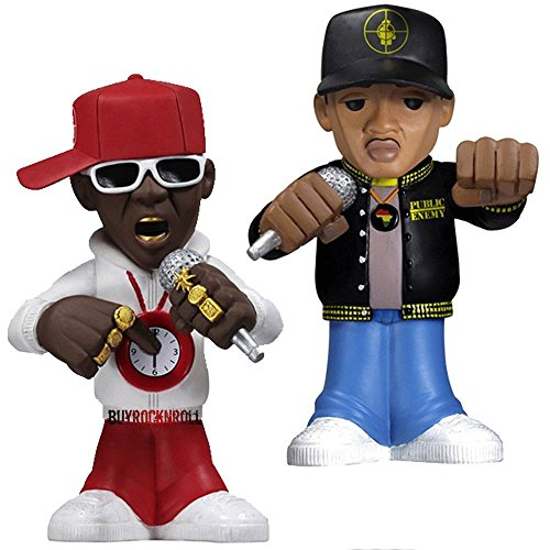 "Public Enemy Collectors: 2011 Funko Flavor Flav Chuck D Urban Vinyl 6"" Figures"