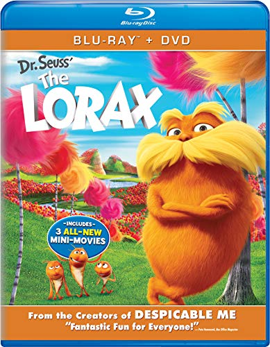Dr. Seuss' The Lorax (Blu-ray + DVD) (Best Of 3d Blu Ray Review)