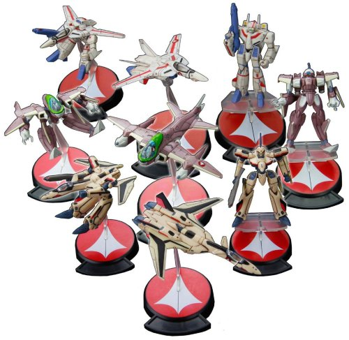 Macross Variable Fighters Collection 1/200