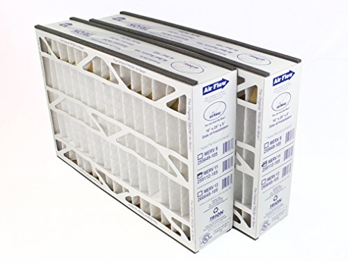 """Price comparison product image Trion Air Bear 259112-105 (2-Pack) – 16"""" x 25"""" x 5"""" Pleated Air Filter,  MERV 11"""