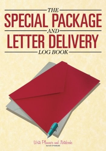 The Special Package and Letter Delivery Log Book