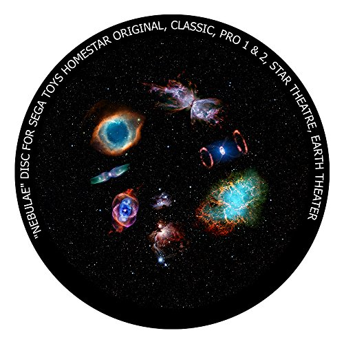 (Nebulae disc for Segatoys Homestar Pro 2, Classic, Original, Earth Theater Home Planetarium)