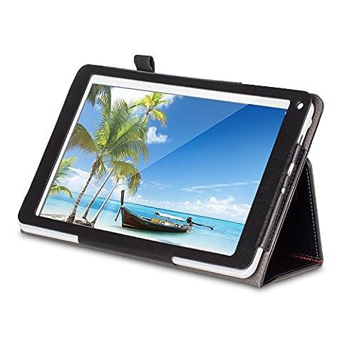 [3 Bonus items] Simbans Presto 10 inch tablet, Android tablet 10.1 inch IPS screen, Quad Core, HDMI, 16GB Tablet PC, 2+5 MP Camera, GPS, WiFi, USB, Bluetooth, 10