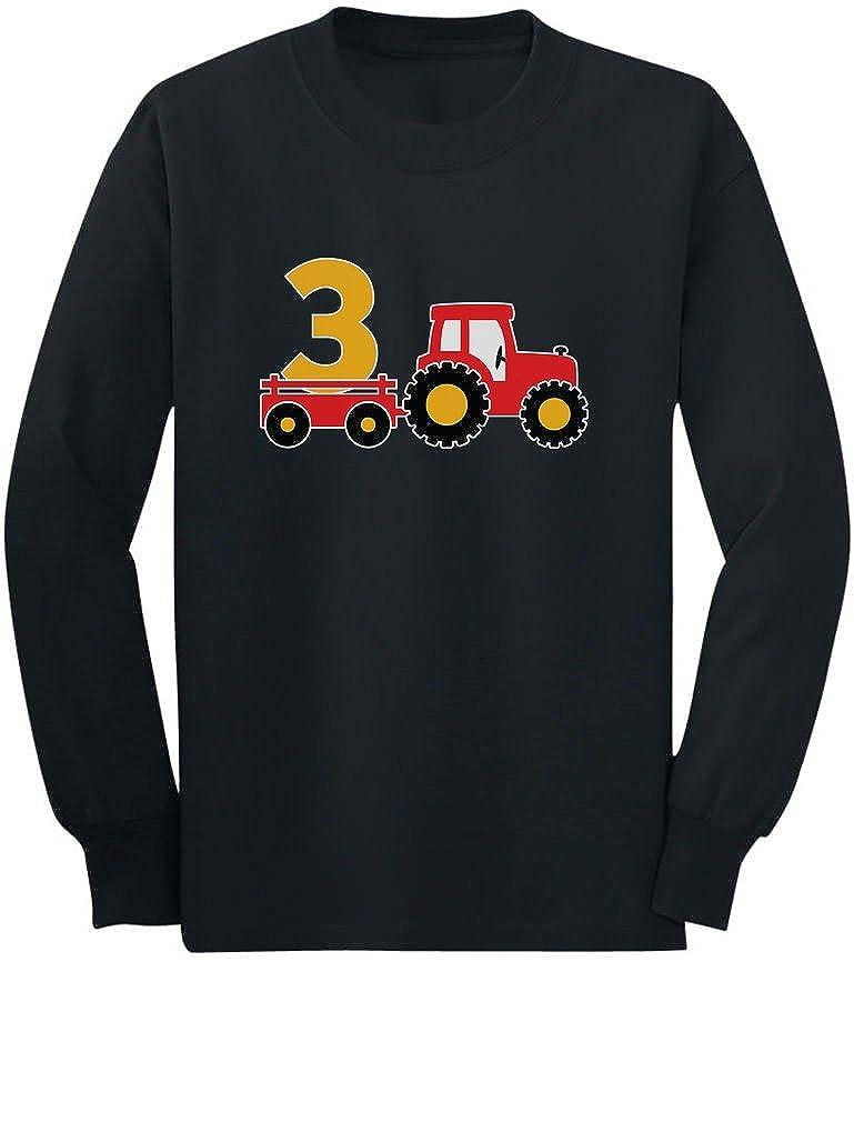 お見舞い 3rd Birthday Construction Party 3 3 Year Old Year Boy幼児/キッズ長袖Tシャツ B06WP2RTQM 4T ブラック B06WP2RTQM, シマジリグン:a94cc61f --- a0267596.xsph.ru