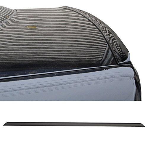 Trunk Spoiler Fits 1998-2004 Chrysler 300M | PV Style Unpainted Black Rear Spoiler Wing Tail Lid Finisher Deck Lip by IKONMOTORSPORTS | 1999 2000 2001 2002 (Chrysler 300 Meter Spoiler)