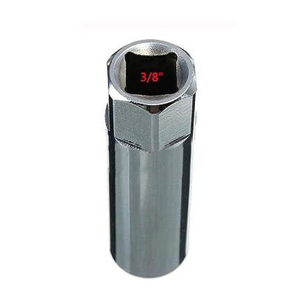 FireAngels - Llave de Vaso para bujías de 14 mm, Acero Inoxidable, 12 Puntos, para BMW Mercedes Toyota Peugeot Spark Plug Disassembl, Manga: Amazon.es: ...