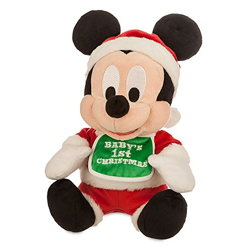Disney Mickey Mouse Holiday Plush - ''Baby's 1st Christmas'' 9 Inch ()