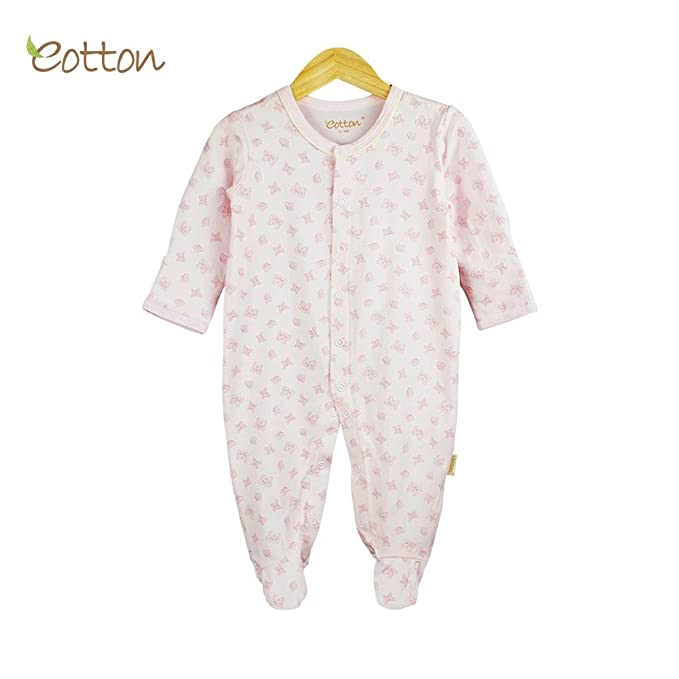 96f2c1e72 Certified Organic Bunny   Butterfly Footed One-Piece  Amazon.ca ...