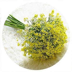 16pcs/Set Babies Breath Artificial Flowers Fake Gypsophila DIY Floral Bouquets Arrangement Wedding Home Garden Party Decoration,4 8