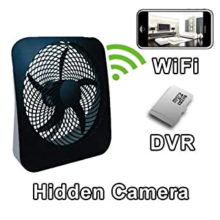PalmVID WiFi Fan Hidden Camera Spy Camera with Live Video Viewing