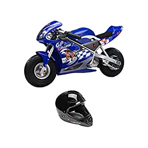 Razor 24-Volt Mini Electric Pocket Rocket + Full Face Helmet | 15120041 + 97878