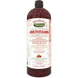 Vegan Liquid Morning Multivitamin by Maryruth (Raspberry)