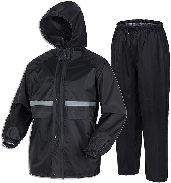 Liuhong Rain Coats for Men Lightweight Waterproof Rain Suit