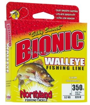 Northland Tackle Bionic Walleye Line 8 Lb. Fishing Products