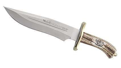 Amazon.com: Muela magnum-23 Fixed Blade cuchillo de caza con ...