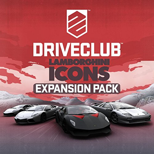 Driveclub - Lamborghini Icons Expansion Pack - PS4 [Digital Code]