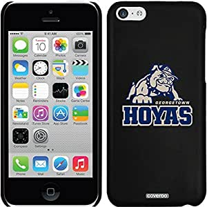 Coveroo iPhone 5 5s Black Thinshield Snap-On Case with Georgetown University Mascot Hoyas Design