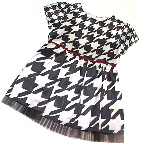Hartstrings Girls' Houndstooth Shantung Woven Dress (5)