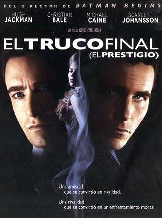 Amazon.com: El Truco Final (El Prestigio) (Import Movie ...