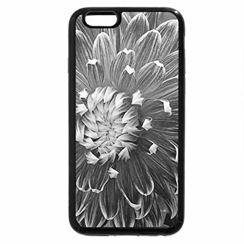 iPhone 6S Case, iPhone 6 Case (Black & White) - DAHLIA