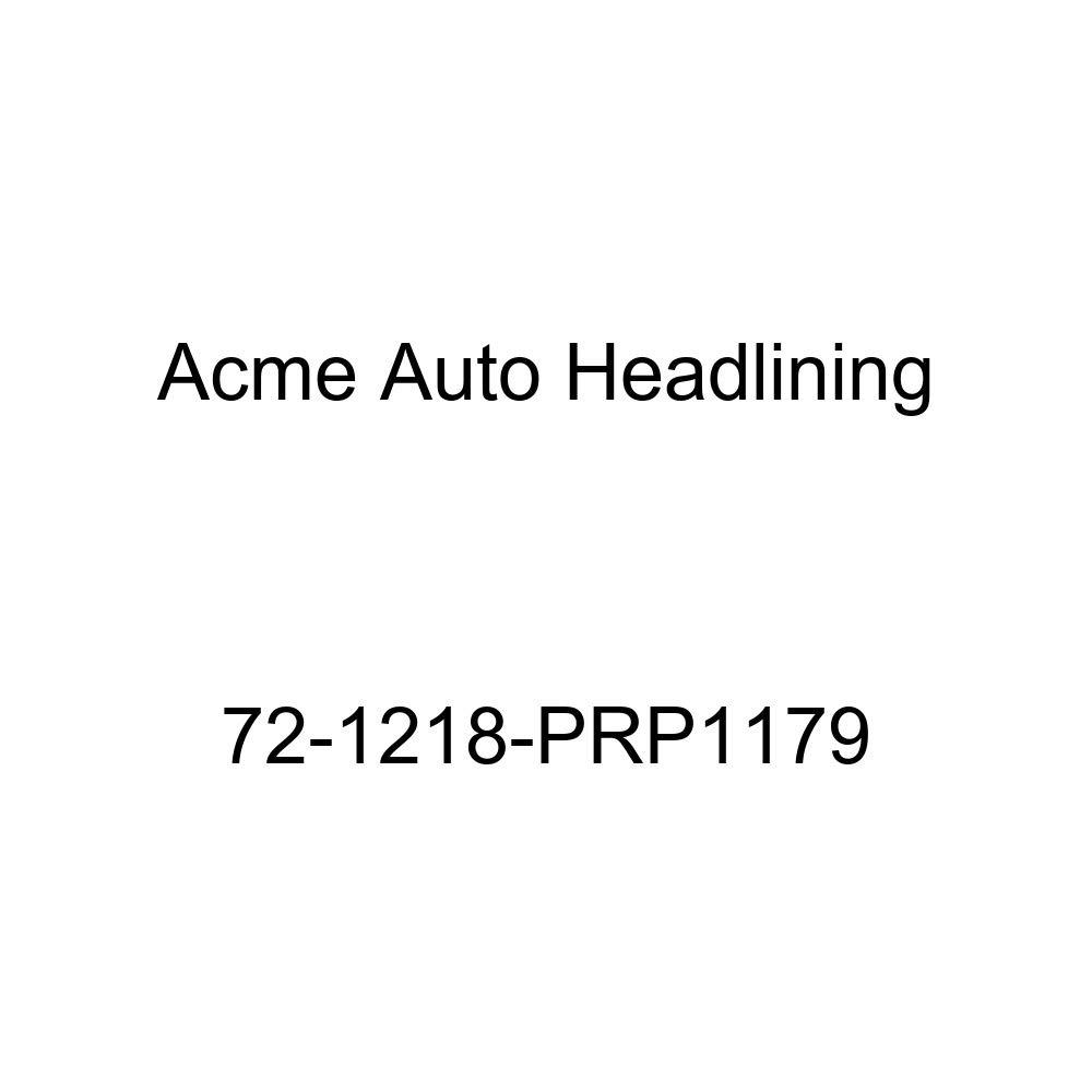 Acme Auto Headlining 72-1218-PRP1179 Black Replacement Headliner 8 Bow 1972 Oldsmobile Custom Cruiser 4 Door Wagon