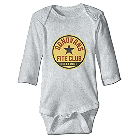 Ray Donovan Fite Club CGH Seven Unisex Baby Climb Clothes Romper Size18 Months Ash (Jake Wii)