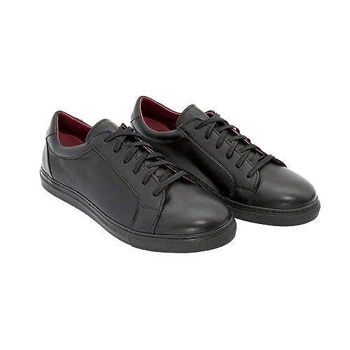 5b10e85aedc Beatnik Harper Black Zapatillas Negras de Piel Unisex  Amazon.es  Zapatos y  complementos